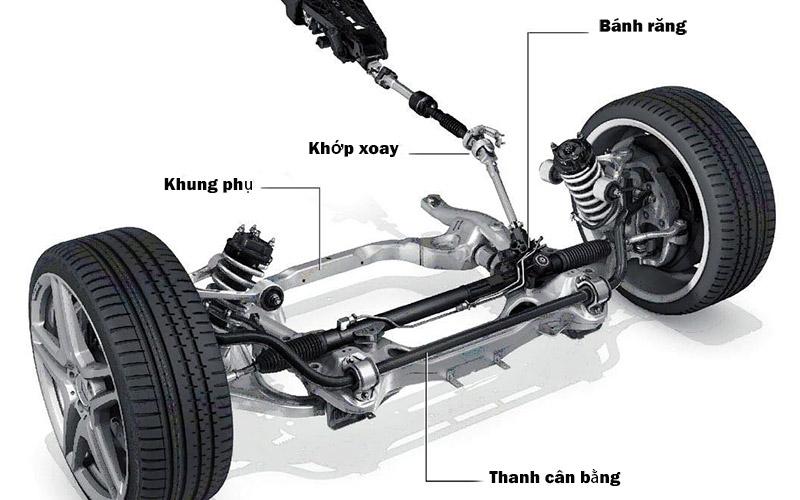 thước lái ô tô