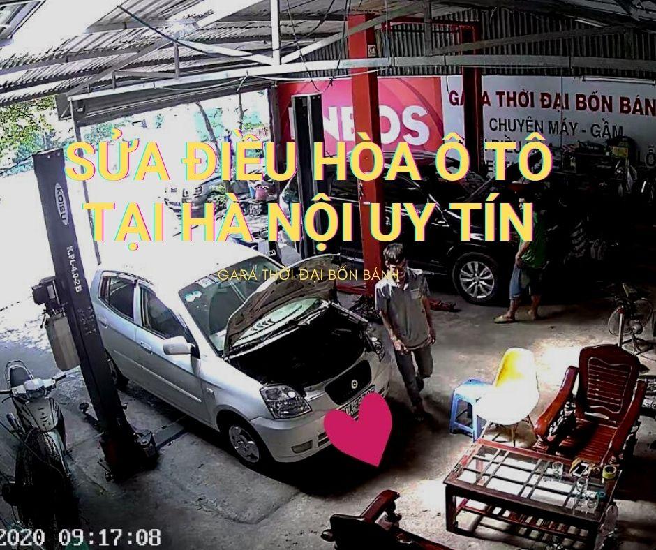 Sửa điều hoà ô tô tại hà nội uy tín